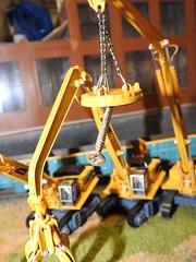 Cranes (S.G.J) Tags: cranes metaley model railway train layout scrapyard scrap scrapmetal scrapmetalmerchant scrapmetalyard steelscrap