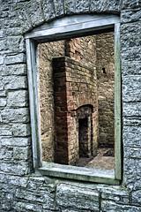 Warm inside (jimj0will) Tags: tyneham window wall photofold temperature shift