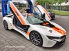 BMW i8 Hilton car rally 2018 (PictureJohn64) Tags: germany coches supercar vehicle car auto transport iphone picturejohn64 netherlands amsterdam schiphol hilton bmw