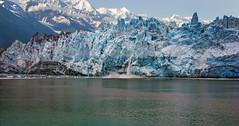 Calving (My Americana) Tags: calving margerie glacier glacierbaynationalpark ice mountain scenic landscape nationalpark np alaska ak