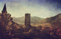 Val Venosta (vittorio.chiampan) Tags: travel fineart art landscape tower old