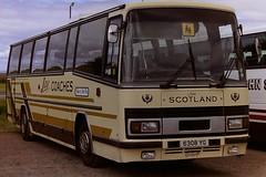 JAY COACHES, COATBRIDGE 6308YG ANNE (bobbyblack51) Tags: jay coaches coatbridge 6308yg anne daf plaxton paramount 3200 irvine 1996