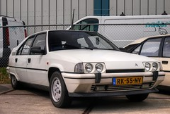 Citroën BX 19 GTi (Skylark92) Tags: nederland netherlands holland noordholland northholland wormer 2cv eendengarage sander aalderink windshield road car citroënforum voorjaarsmeeting 2018 citroën bx 19 gti 8v k6 rk55nv 1987