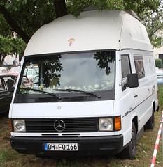 MB 100 Camper (Schwanzus_Longus) Tags: asendorf german germany old classic vintage camper camping van bus mercedes benu mb 100d 100 diesel d