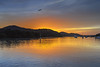 Sunrise Waterscape on the Bay (Merrillie) Tags: daybreak woywoy landscape nature australia foreshore newsouthwales earlymorning nsw brisbanewater morning dawn coastal water sky waterscape sunrise centralcoast bay outdoors