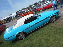 1973 Ford Mustang Convertible (splattergraphics) Tags: 1973 ford mustang convertible carshow springcarlisle carlisle carlislepa