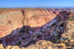 1st Crack Skywalk above Pseudo-Escalante Canyon (Chief Bwana) Tags: az arizona pariaplateau vermilioncliffs navajosandstone canyon pariacanyon escalante overlook viewpoint psa104 chiefbwana 500views