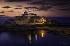 Faro Isla de Tapia (Luis R.C.) Tags: nocturnas faro marinas paisajes ocaso asturias nikon d610