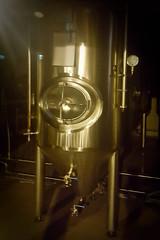 Tank at Brewery (Kevin Borland) Tags: poland białystok brewery tank