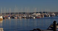 D13329.  Torquay Harbour, South Devon. (Ron Fisher) Tags: torquay torbay torquayharbour harbour boat reflection devon southdevon westcountry westofengland southwestengland england europe gb greatbritain uk unitedkingdom pentax pentaxkx