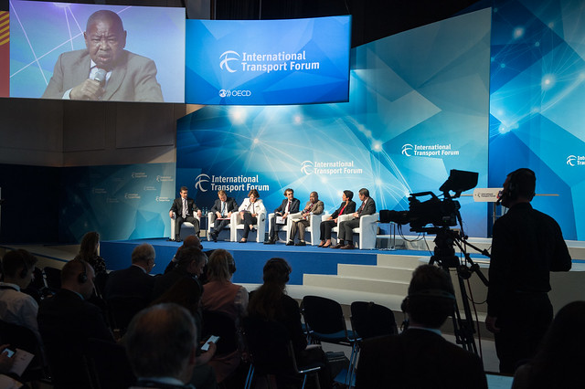 The Plenary in session