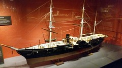 ChicSciMus_082_Powhatan (AgentADQ) Tags: chicago illinois museum science industry ship gallery ships model maritime uss powhatan armed cruiser commodore mathew perry