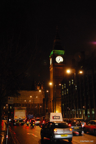 Парламент і Біг Бен Лондон вночі InterNetri United Kingdom 0443