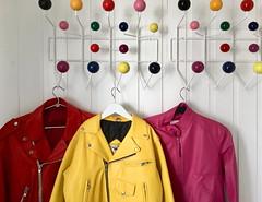 Jakkene - - Jackets (erlingsi) Tags: eames hangit hanging jackets jakker jakkene seljebakken no charleseames