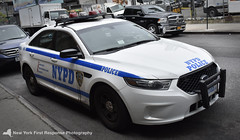 2015 NYPD FPIS 3102 (PSA 3) (nyfrp) Tags: nypd new york police department nyc ny state fleet week navy marines army car fpiu fpis chevy impala ford interceptor utlity sedan polaris atv ambulance downtown manahttan west intrepid aircraft carrier street parked officers policecar policedepartment