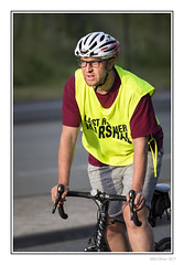 Last Runner Marshal (Seven_Wishes) Tags: newcastleupontyne scotswoodroad canoneos5dmarkiv canonef100400mmf4556lisii photoborder jo outdoor blaydonrace blaydonrace2017 roadrace people streetphotography candid portrait athlete athletic sporting cyclist malecyclist helmet marshal glasses hivisvest edoliverphotography 2017 views5k