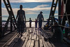Let's take a trip to the pier (cro' . . .in the morning) Tags: select mawlamyine myanmar pier wood bridge sea people fisherman travel traveling amazinglights sunset trip