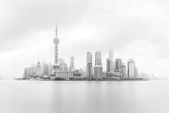 Shanghai (Giles McGarry (formerly kantryla)) Tags: cityscape china longexposure panorama