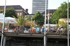 Hamburger Hafen 2018 - Landungsbrücken (www.sommer-in-hamburg.de) Tags: hafen altona abenddämmerung landungsbrücken hamburg mai frühling hitzewelle