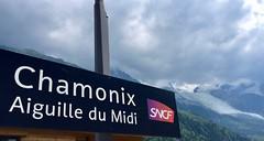 Railway station Chamonix. (elsa11) Tags: chamonix glacierdesbossons railwaystation hautesavoie auvergnerhonealpes thunderstorm montblancmassif alpes alps alpen france frankrijk mountains montagnes glacier gletscher gletsjer