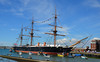 HMS Warrior (davids pix) Tags: hms warrior warship sail preserved portsmouth dockyard royal navy 2018 02062018