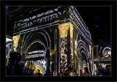 Série Atelier des Lumières : N°10 - Arc de Triomphe - (Jean-Louis DUMAS) Tags: peinture abstract abstraction artiste artist artistique art peintre gens people