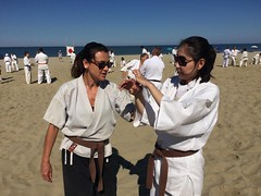 18738961_10156348125558569_4135229443613620368_o (tripletsamurai) Tags: bristol karate martial arts staple hill concentration kingswood bath girls couple ladies wrist lock italy sun sea sand japan