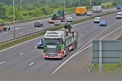 Eddie Stobart 'Millie Anne' (stavioni) Tags: esl eddie stobart truck trailer scania r450 lorry millie ann mechanical off load mol brick h2703