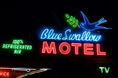 Blue Swallow Motel (dangr.dave) Tags: tucumcari nm newmexico quaycounty downtown historic architecture neon neonsign route66 blueswallowmotel