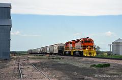 Quintessential Quinn (GRNDMND) Tags: trains railroads rcpe rapidcitypierreeastern locomotive emd sd402 quinn southdakota