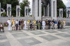 WWII Memorial 6 June 2018  (330) D Day Ceremony (smata2) Tags: washingtondc dc nationscapital wwii nationalworldwartwomemorial monument dday veterans greatestgeneration