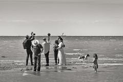 a beachside wedding shoot (stocks photography.) Tags: michaelmarsh whitstable seaside photographer photography beach coast wedding beaconhouse thamesbarge essex tankerton thestreet