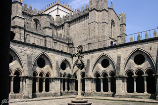 Gothic cloisters of the Porto Cathedral