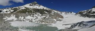 Rhonegletscher Rhône Glacier Glaciar Swiss Alps Switzerland