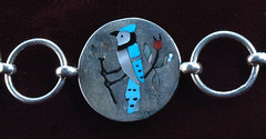 Native American Jewelry blue jay DSC_0012 (Dick Thompson Sandian) Tags: newmexico nm nativeamerican jewelry albuquerque pueblo santafe