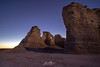 Monument Rocks Dawn (Wits End Photography) Tags: view natural landscape kansas nature scenic grassland sunrise rural country picturesque monumentrocks am dawn daybreak daylight early firstlight light morn morning outdoor outside sunup