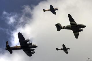 Trenchard Formation | Battle of Britain Memorial Flight