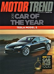 2013 Tesla Model S (aldenjewell) Tags: 2013 tesla model s motor trend car the year january article reprint