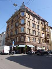 201805110 Stuttgart West (taigatrommelchen) Tags: 20180521 germany stuttgart stuttgartwest urban city building cafe street