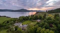 20180608-2242-11 (Don Oppedijk) Tags: isleofraasay scotland verenigdkoninkrijk gb midges cffaa raasayhouse sunset