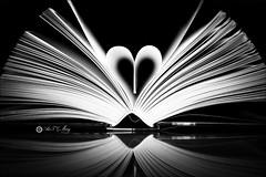 24 Libros 52 (Art.Mary) Tags: libro livre book 52semanas canon bn nb bw monocromo monochrome reflejo reflet reflections
