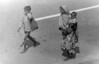 img319 (Höyry Tulivuori) Tags: india 1970 street life people cars monochrome men women child 70s vintage seventies temple city country индия улица чернобелое автомобиль дома народ быт