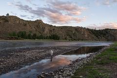 IMGP3342-Edit (Matt_Burt) Tags: cooperwest dog canyon clouds gunnisonriver luna reflection sunset water