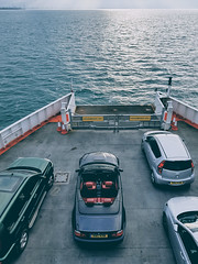Open Top Sailing (Robbie Khan) Tags: unitedkingdom gb isle wight cars bmw e46 m3 water seascape wightlink ferry vsco