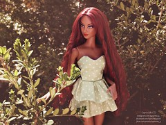 Melissa (Lapochka_G) Tags: barbie nisha stephen burrows mattel dolls doll dollfashion dolldresses goddess