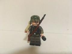 Summer Panzergrenadier (Wehrabricks) Tags: lego german wwii panzergrenadier ss
