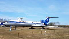 Tupolev Tu.154B1 c/n 83A581 Belavia registration EW-85581 preserved at Minsk International Airport (Erwin's photo's) Tags: tupolev tu154b1 cn 83a581 belavia registration ew85581 preserved minsk international airport