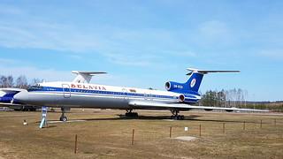 Tupolev Tu.154B1 c/n 83A581 Belavia registration EW-85581 preserved at Minsk International Airport