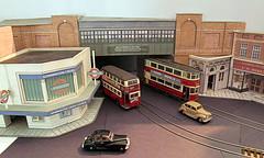 Station entrance (kingsway john) Tags: londontransportmodel oogauge 176scale layout kingsway models card kit chs wwmd acharles holden woolworths