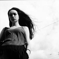 Arina (selchukov) Tags: blackandwhite bw bwportrait bronica film ilfordfp4 ilford 120mm mediumformat streetbw